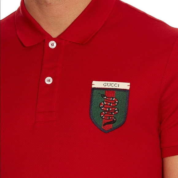 ff86af00a Gucci Shirts | Mens Snake Crest Polo Shirt Brand New | Poshmark